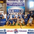 Staff Udas Young e squadra under 13