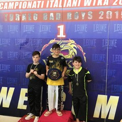 Allievi Fighters premiati