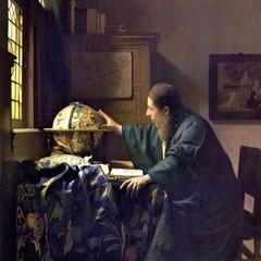 Astronomo quadro dipinto di Jan Vermeer