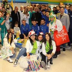 Audace Cerignola visit i pazienti del Tatarella