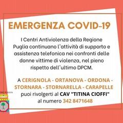 Avviso CAV Titina Cioffi