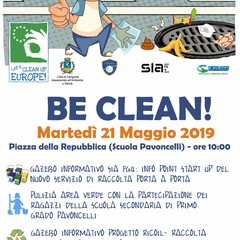 Be Clean marted Maggio