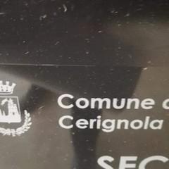 Comnune di Cerignola con stemma Acireale