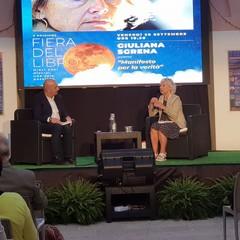 Giuliana Sgrena e Michele Magnifico