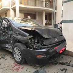 incidente a Cerignola Fiat Punto