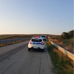 incidente sulla sp Polizia municpale
