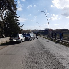 Incidente Via Manfredonia foto
