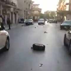 incidente viale di ponente