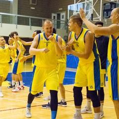 Ingresso in campo Basket Club Cerignola