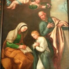 LEducazione della Vergine di Cesare Fracanzano