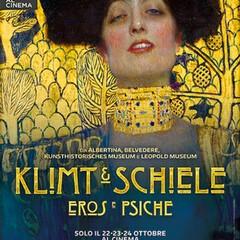 Locandina Klimt e Schiele