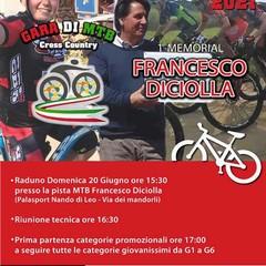 Locandina Memorial Francesco Diciolla