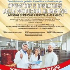 Locandina Operatore Agroalimentare CNOS FAP