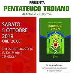 Locandina presentazione libro Pentateuco troiano