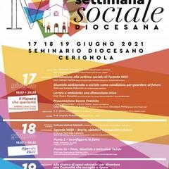 Locandina Settimana Sociale Diocesana
