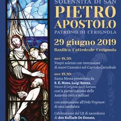 Locandina solennit S Pietro Apostolo