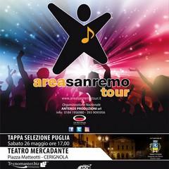 Manifesto area Sanremo