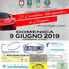 Manifesto Ferrari a Cerignola