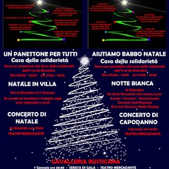 Manifesto eventi natalizi