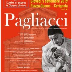 manifesto Pagliacci in Piazza Duomo
