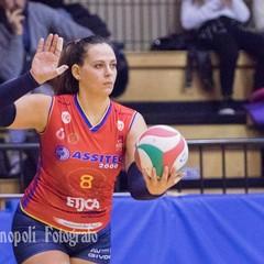 Miriam Darco alla battuta