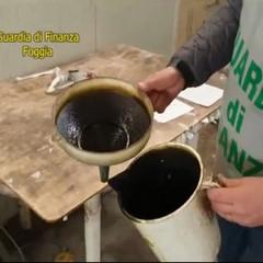 olio contraffatto