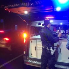 Polzia Municpale Cerignola misurazione del tasso alcolemico