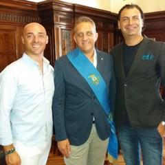 Presidente Gatta Felice Tesse e Savino Cuocci