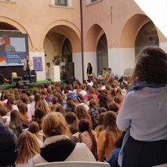Studenti con Trifone Gargano
