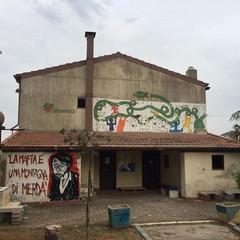 sulle terre di Cerignola confiscate alla mafia