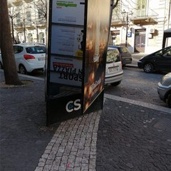 vandalismo a Cerignola
