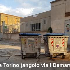 Via Torino angolo De Martinis