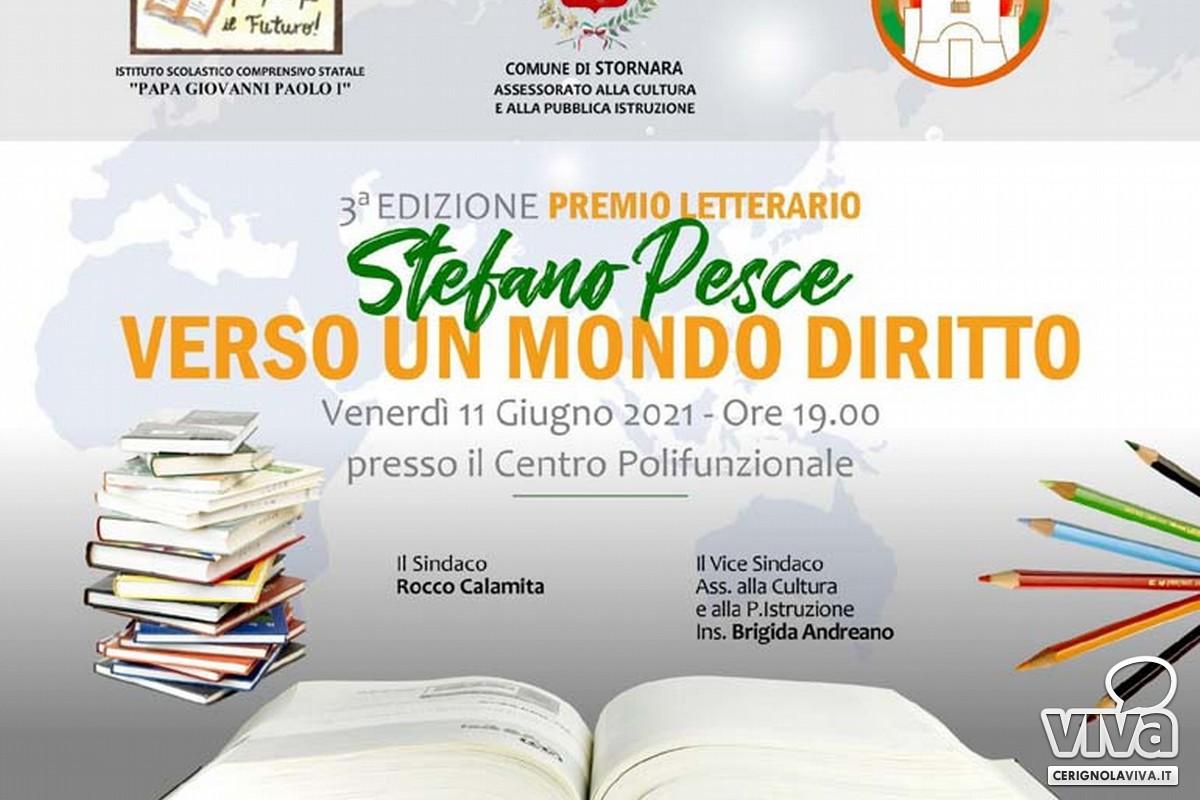 Locandina Premio Letterario Stefano Pesce