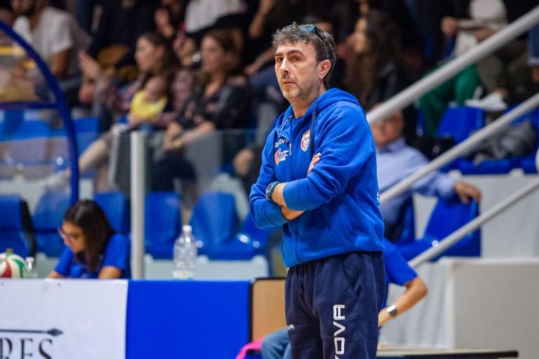 Coach Breviglieri. <span>Foto Vito Monopoli</span>