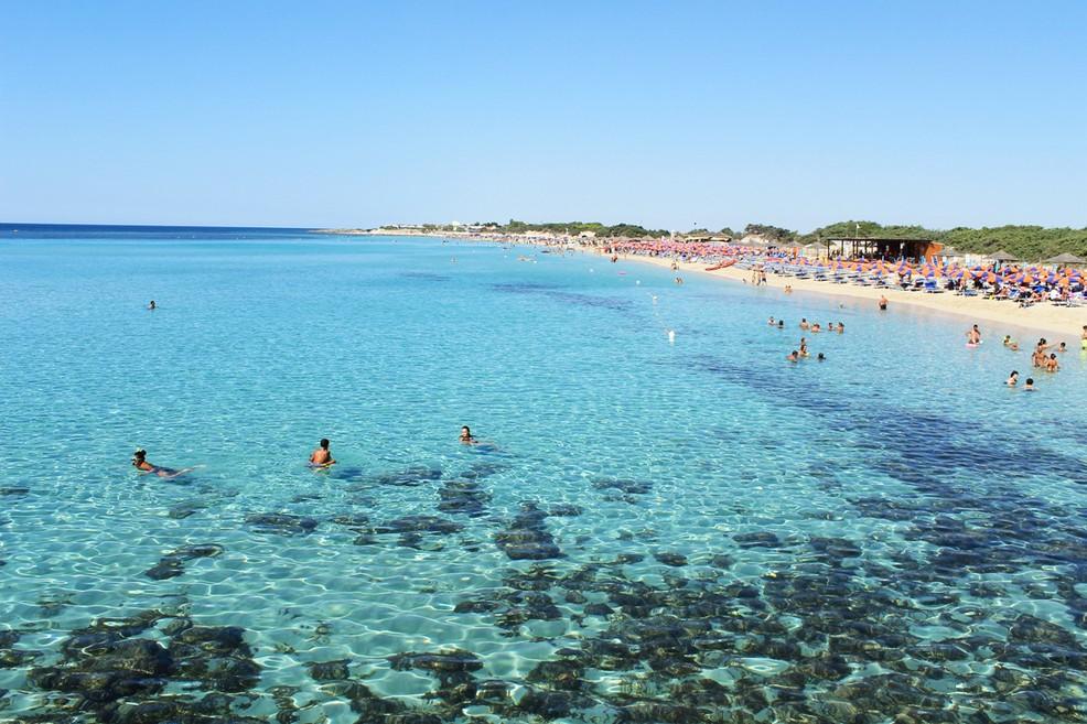 spiaggia lido sirene togo bay bonavista porto cesareo salento