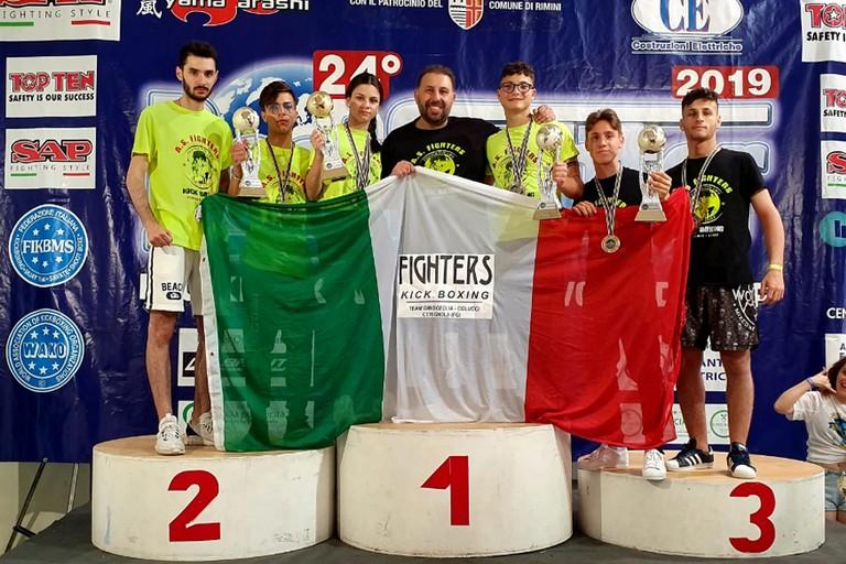 A.S. Fighters del team Dibisceglia Colucci al Best Fighter