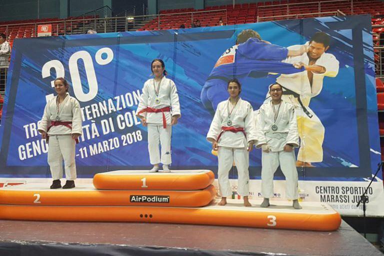 A.S.D. Kito Ryu: un primo ed un terzo posto per la judoka Aurora Dipalo.