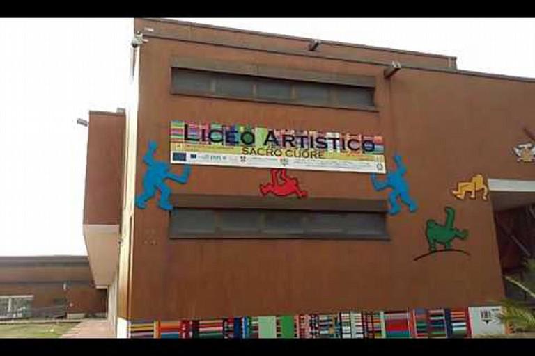"""Maltempo: Il Liceo Artistico """"Sacro Cuore"""" costretto a chiudere."""