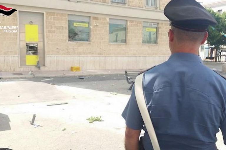 Assalto Postamat Cerignola
