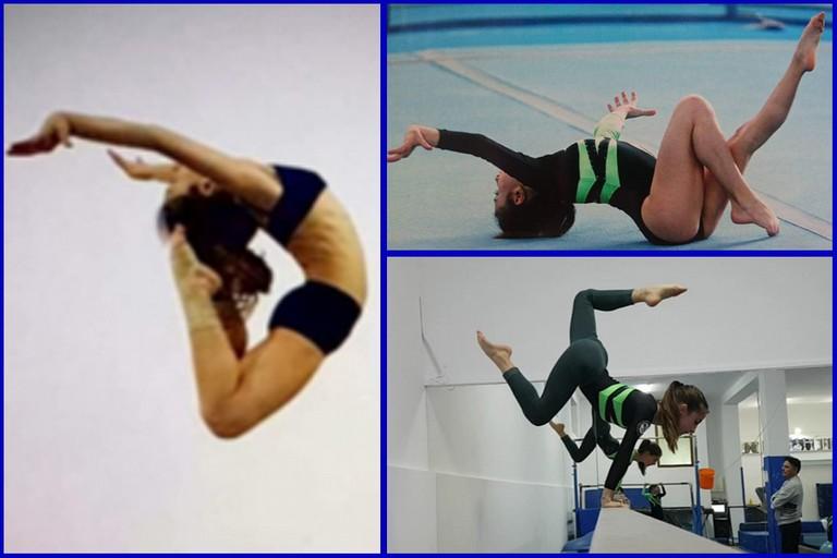 Aurora Debono Campionessa regionale ginnastica artistica