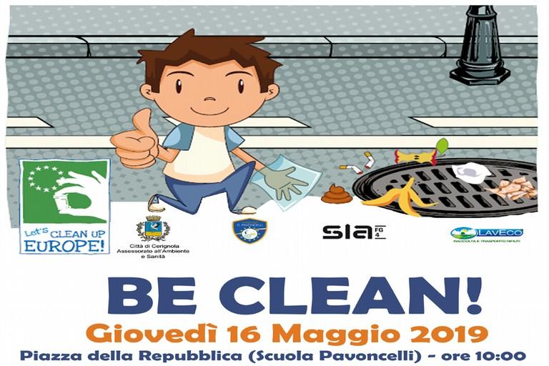 Be Clean!