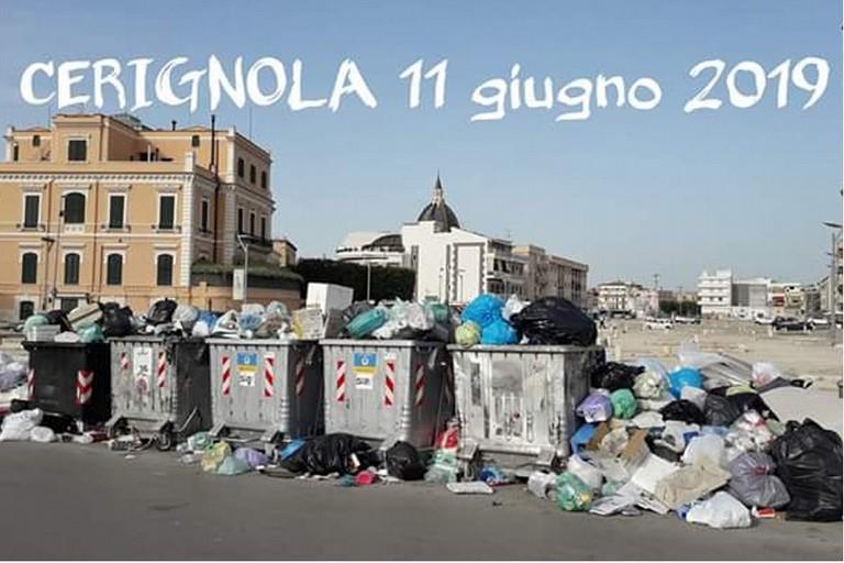 Banner Cerignola di Fratelli d'Italia