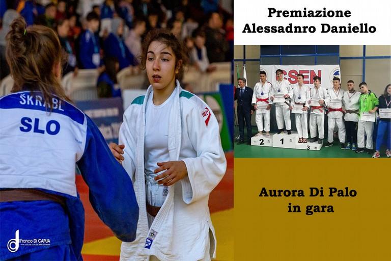 """Judo - Aurora Dipalo, una storia da raccontare. Alessando Daniello 1° Classificato nel """"Trofeo Nazionale Judo"""" -FOTO-"""