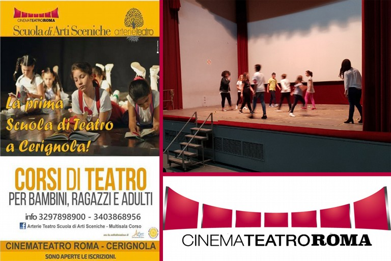 Corso di arti sceniche al Cine Teatro Roma