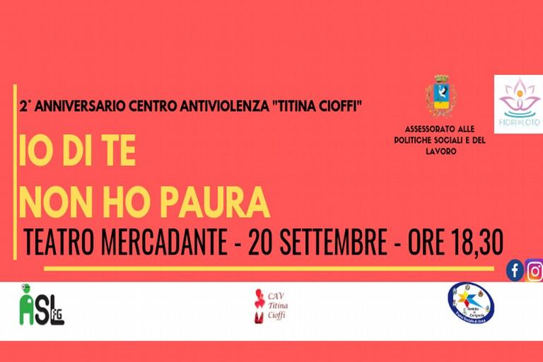 """Secondo anniversario del C.A.V. """"Titina Cioffi"""", convegno organizzato al Mercadante di Cerignola."""