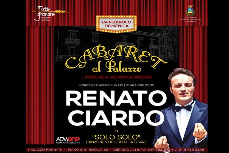 Renato Ciardo a Palazzo Fornari