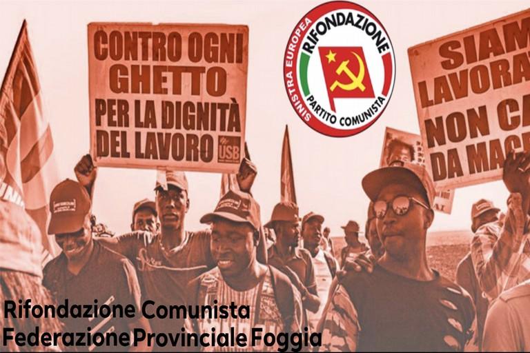 Rif. Comunista federazione Provinciale Foggia