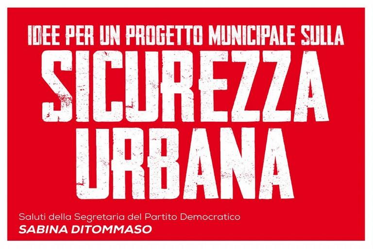 Convegno PD Sicurezza Urbana