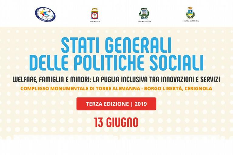 Stati Generali delle politiche sociali