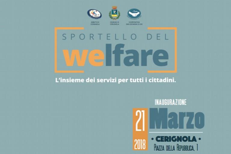 Inaugurazione Sportello Welfare, l'insieme dei servizi per tutti i cittadini.